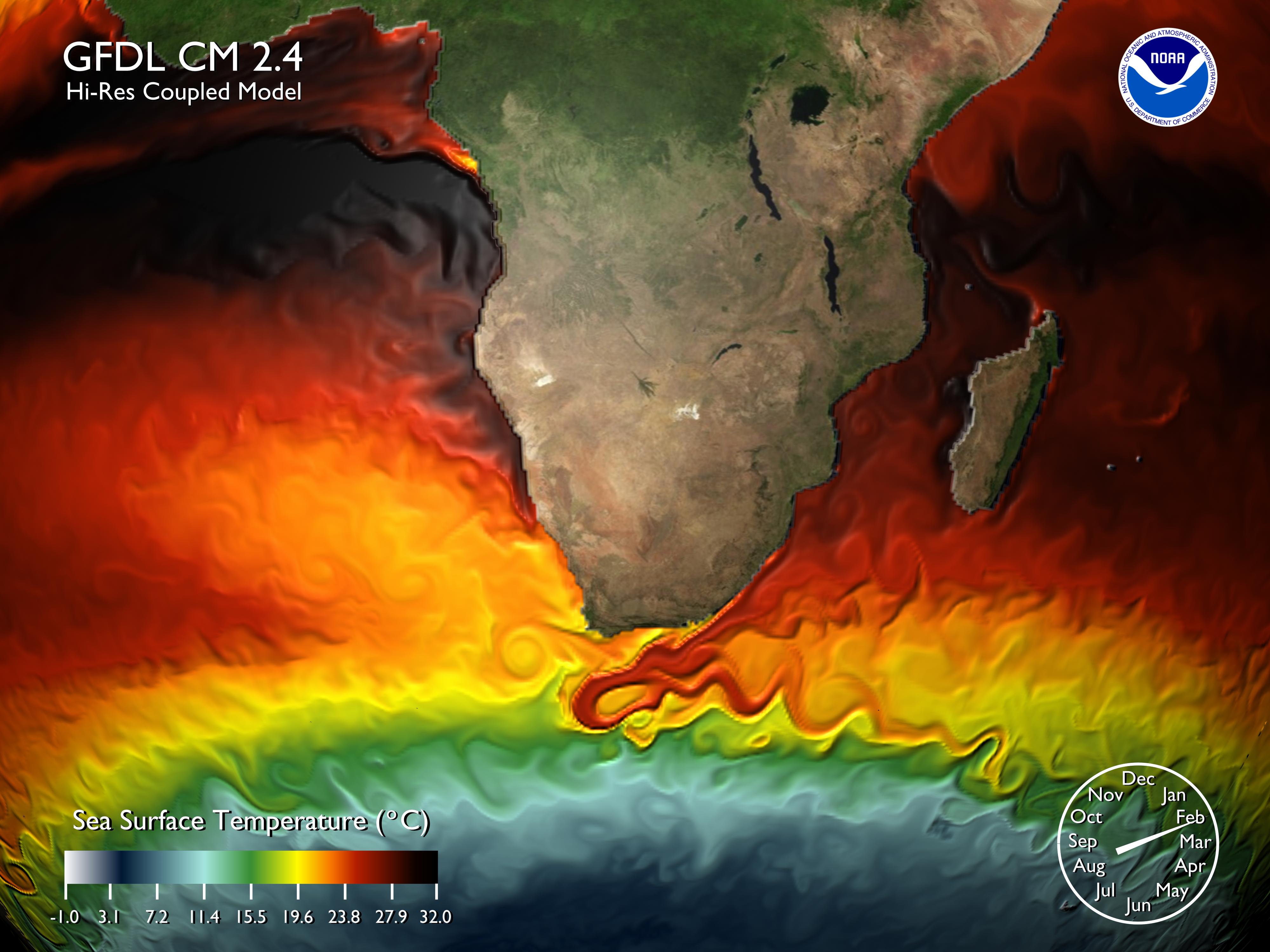 coas earths surface temperatures - HD4000×3000