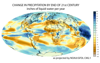 [GFDL CM2.1 Global Precipitation Change (small)]