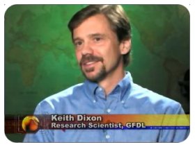 [Keith Dixon of NOAA GFDL appearing on AccuWeather.com Headline: Earth - Aug 2007]