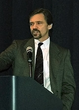 [Keith Dixon speaking on climate change at the Aquarium of the Pacific Oct 2007]